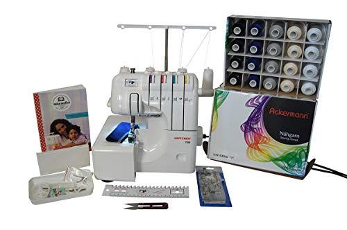 Gritzner 788 Overlock 3G mit LED Licht + Ackermann Overlock-Garnbox